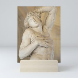 "Michelangelo ""The Dying Slave"" Mini Art Print"