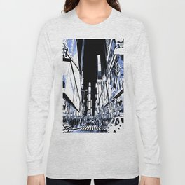 Times Square Art Long Sleeve T-shirt