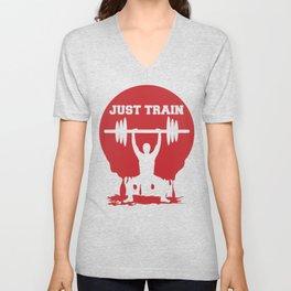 Just train Unisex V-Neck