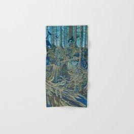Forest Salmon Run  Hand & Bath Towel