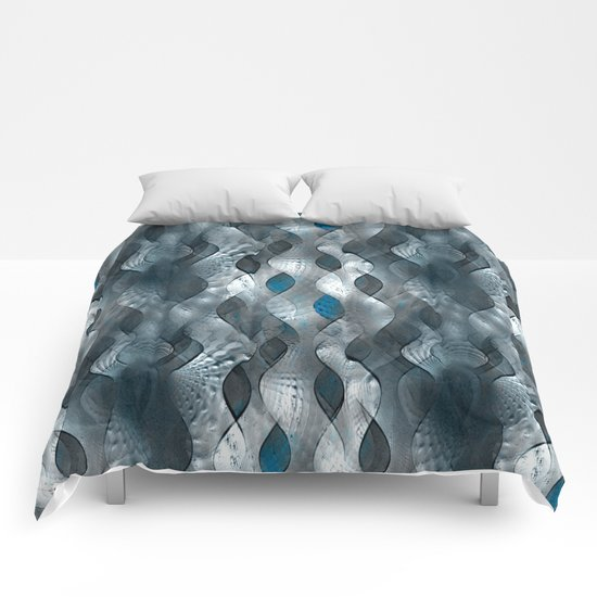 Silver Tide Comforters