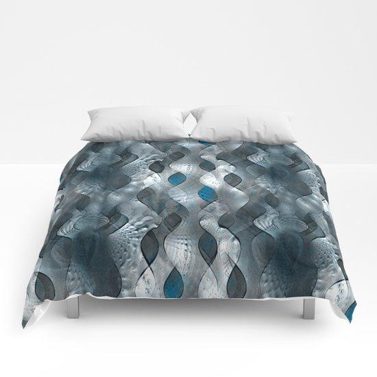Silver Tide Comforters