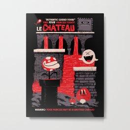 Le Château Metal Print