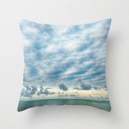 Sea and Cloud Throw Pillow