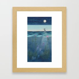 The Deep Blue Framed Art Print