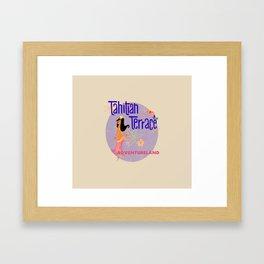 Tahitian Terrace Framed Art Print