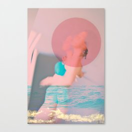 Swim Outside of Your Own Bubble, You're Going to Drown Canvas Print