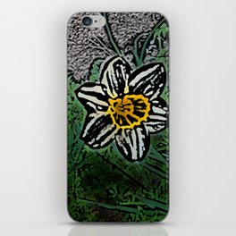 Surreal White Daisy  iPhone Skin