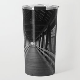 Covered Bridge Interior Travel Mug