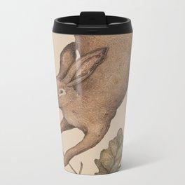 The Hare and Oak Metal Travel Mug