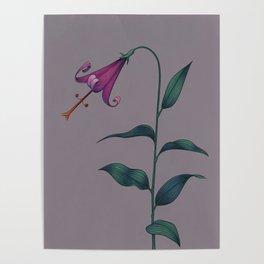 Sagittarius Flower Variation One Poster