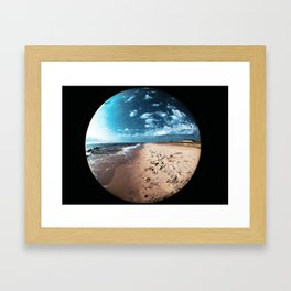 Kodak Beach Framed Art Print