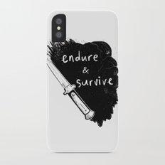 Endure and Survive Slim Case iPhone X
