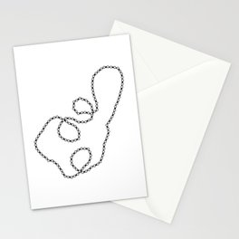 Twisted Bike Chain Stationery Cards
