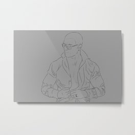 The Broker Metal Print