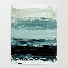 abstract minimalist landscape 4 Poster