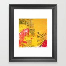 INVASION! Framed Art Print
