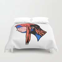 xmen Duvet Covers featuring x9 by jason st paul