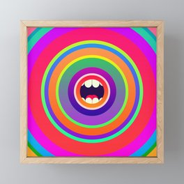 Jawbreaker Framed Mini Art Print