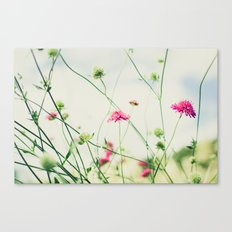 Dancing in the Meadow Canvas Print