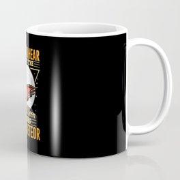 Space Metor joke shirt design New Moon Coffee Mug