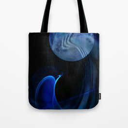 Dolphin Abstract Tote Bag