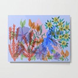 Prism Garden  Metal Print