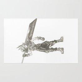 Cloud Strife Final Fantasy VII Rug