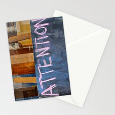 'Attention' Stationery Cards