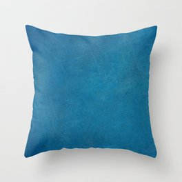 blue_logo Throw Pillow