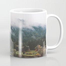 Foggy Vancouver Island, BC Coffee Mug