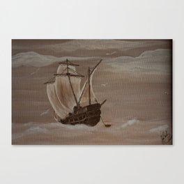 La marée haute Canvas Print