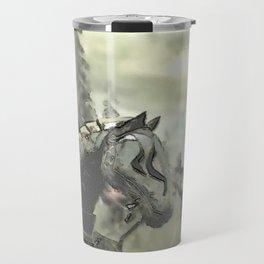 Armored horse - 铁甲马 Travel Mug