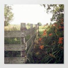 Betty's Fence. Canvas Print