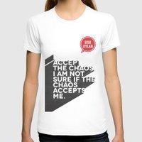 bob dylan T-shirts featuring Bob Dylan by Dane Spearman