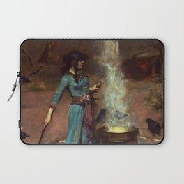 The Magic Circle John William Waterhouse Painting Laptop Sleeve