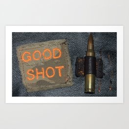 Good Shooting Art Print