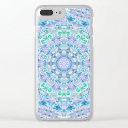 Colour Aquatica Kaleido I Clear iPhone Case