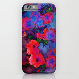 Ruby Red Vine iPhone Case