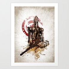 Star Wars _ IG-88 Art Print