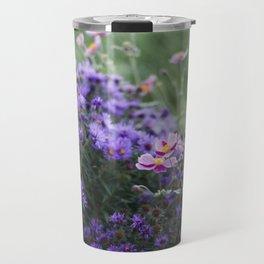 Asters and Japanese Anemones Travel Mug