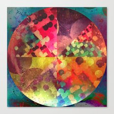 1 cyrc Canvas Print