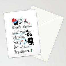 Dear Santa Stationery Cards