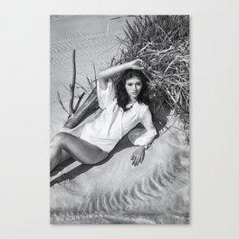 B&W Models Series 2 Canvas Print