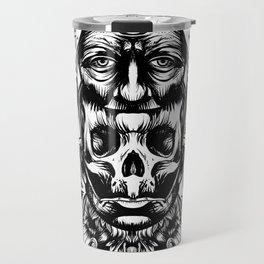 Face helmet Travel Mug