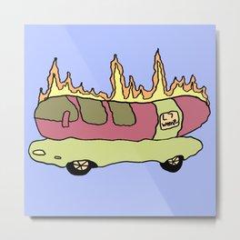 L7 Weenie Roaster Metal Print