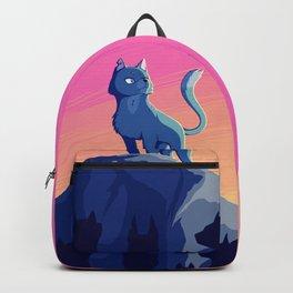 A Blue Leader Backpack
