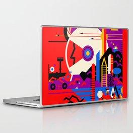 NASA Mars The Red Planet Retro Poster Futuristic Best Quality Laptop & iPad Skin