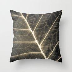 Leaf Patterns Throw Pillow