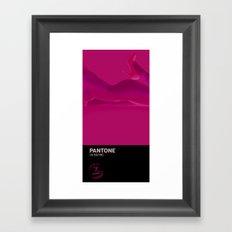PANTONE #4 Framed Art Print